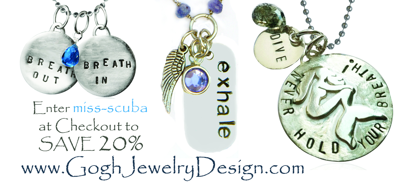 20% off miss scuba jewlery