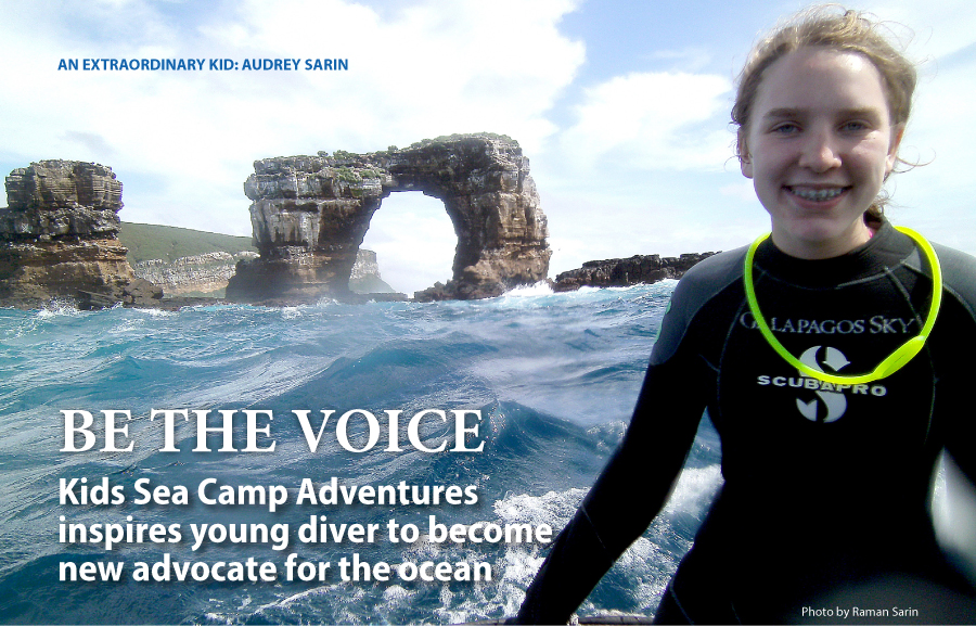 BE THE VOICE: How Kids Sea Camp Adventures inspired me to become an advocate for the ocean