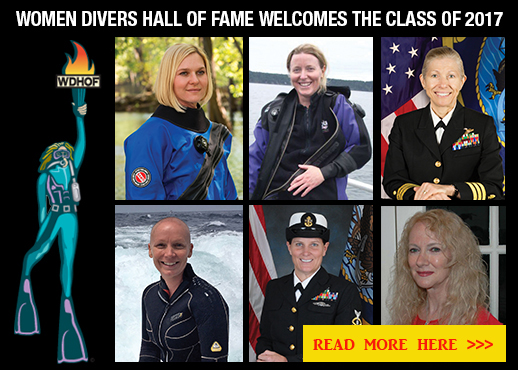 women divers hall of fame class of 2017