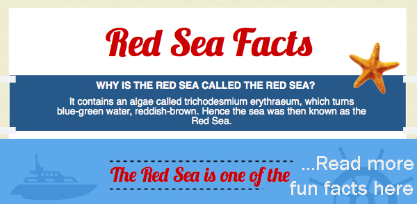 Fun Red Sea Facts